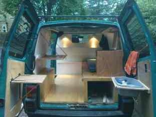 Van Conversion Ideas Layout 15