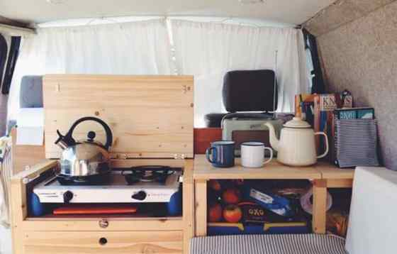Camper Van Conversion 18