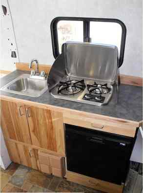 Camper Van Conversion 23