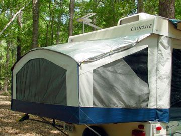 Camping Hacks Camper Pop Up 23