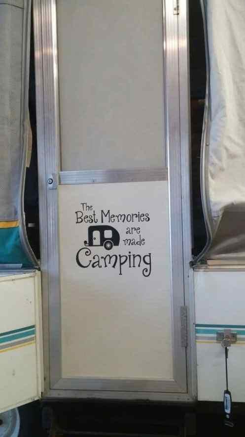 Camping Hacks Camper Pop Up 24