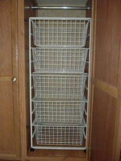 Rv Clothes Storage 20