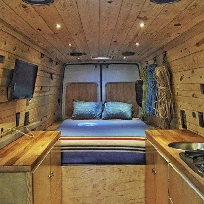 Sprinter Van Conversion 29