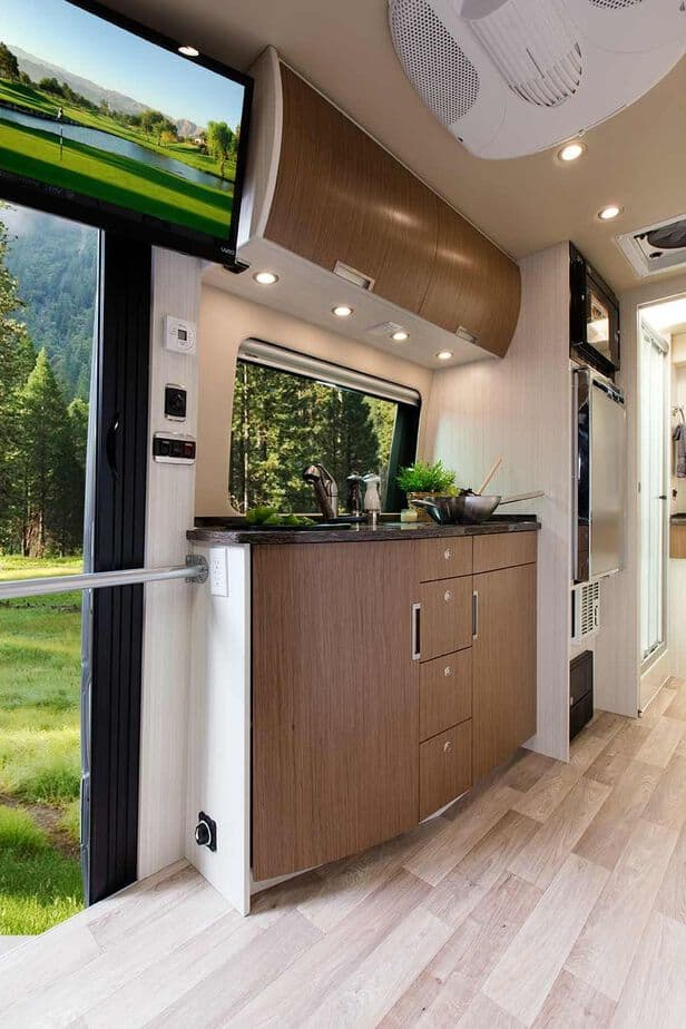 Sprinter Van Conversion 5