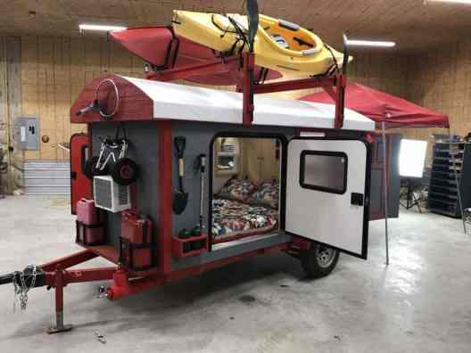 Homemade Camper Trailer Tiny Houses 9