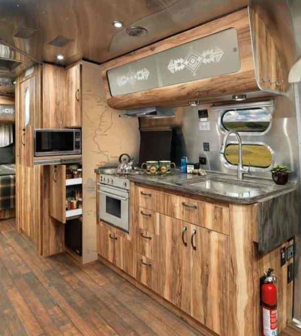 Airstream Kitchen 24