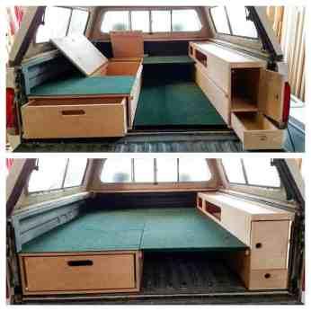 Camper Bed Ideas 9