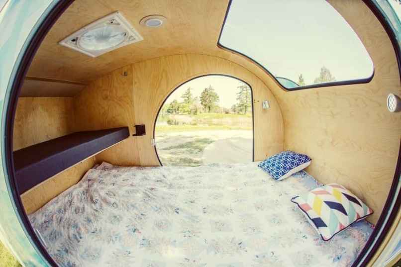 Teardrop Trailer Interior 10