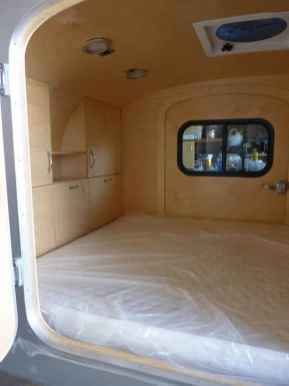 Teardrop Trailer Interior 11