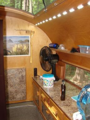 Teardrop Trailer Interior 13