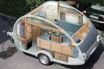 Teardrop Trailer Interior 16