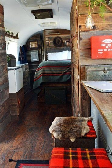 Teardrop Trailer Interior 17