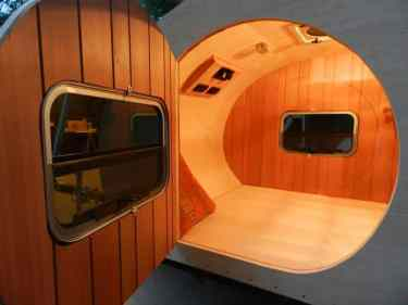 Teardrop Trailer Interior 23