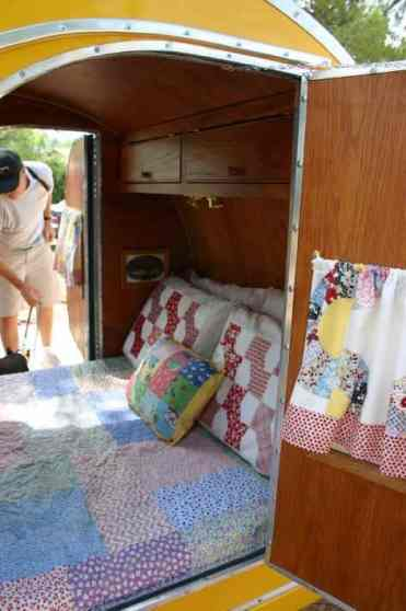 Teardrop Trailer Interior 5
