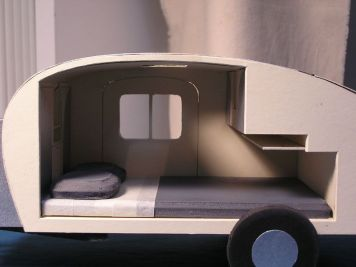 Teardrop Trailer Interior 9