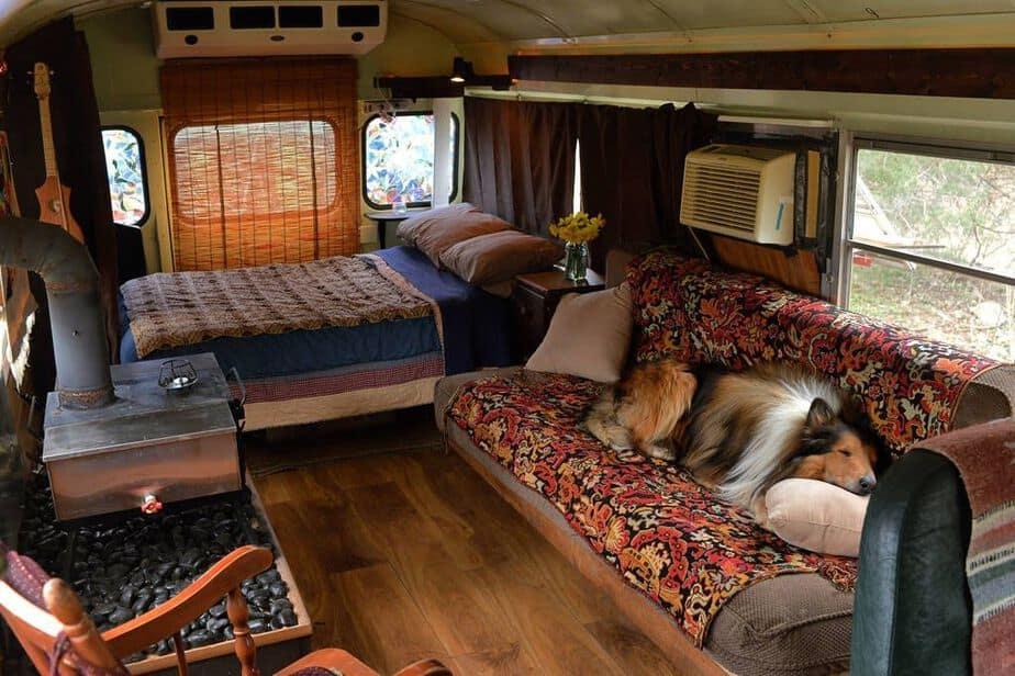 23 Bus Camper Design Ideas | Camperism
