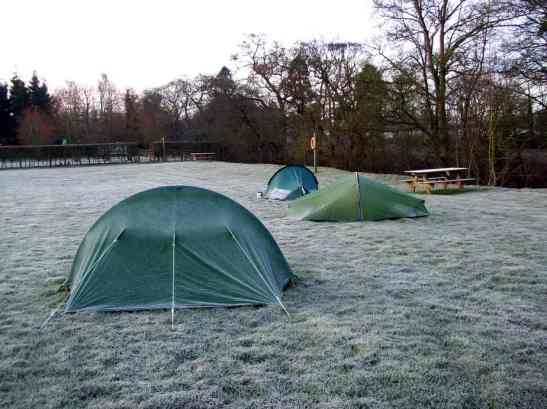 Dry Camping Without RV