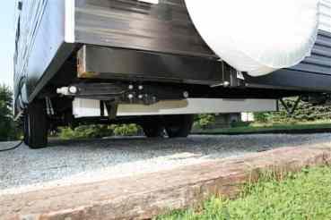 RV Sewage Hose Storage Mod