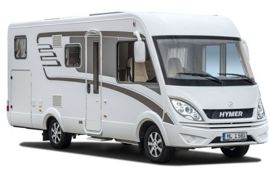 Motorhome With Alarm System