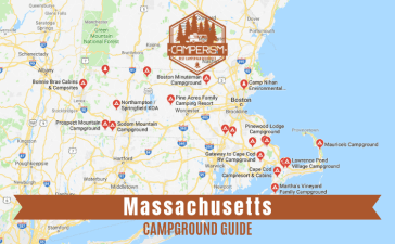 Campgrounds with cabins in Massachusetts