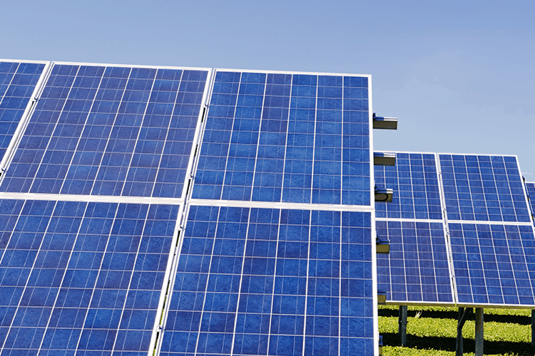 Solar panels for RV