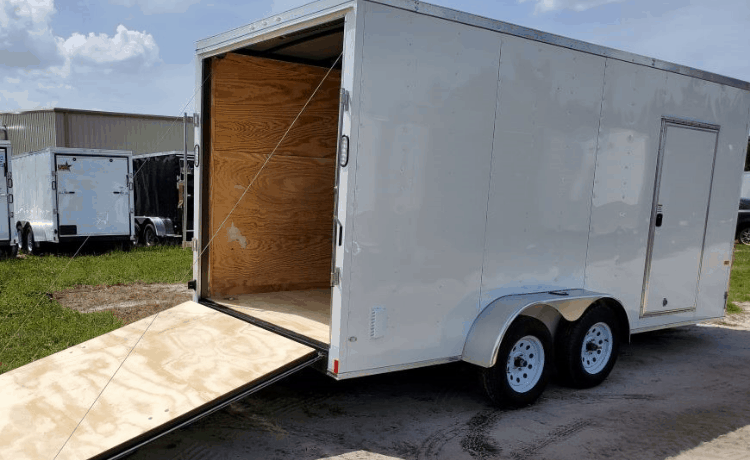 Tall Enclosed Trailer