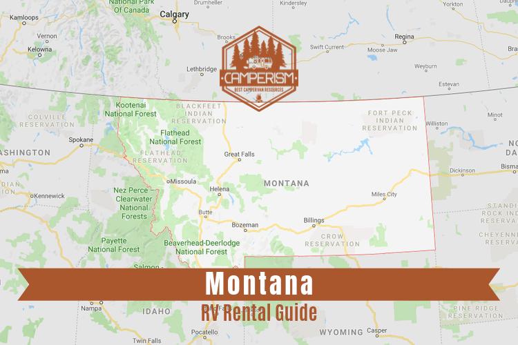 RV rental in Montana