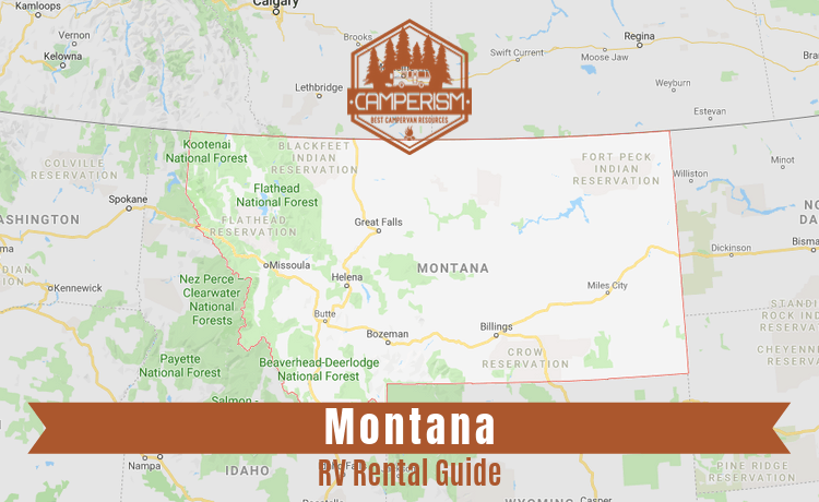 RV rental in Montana