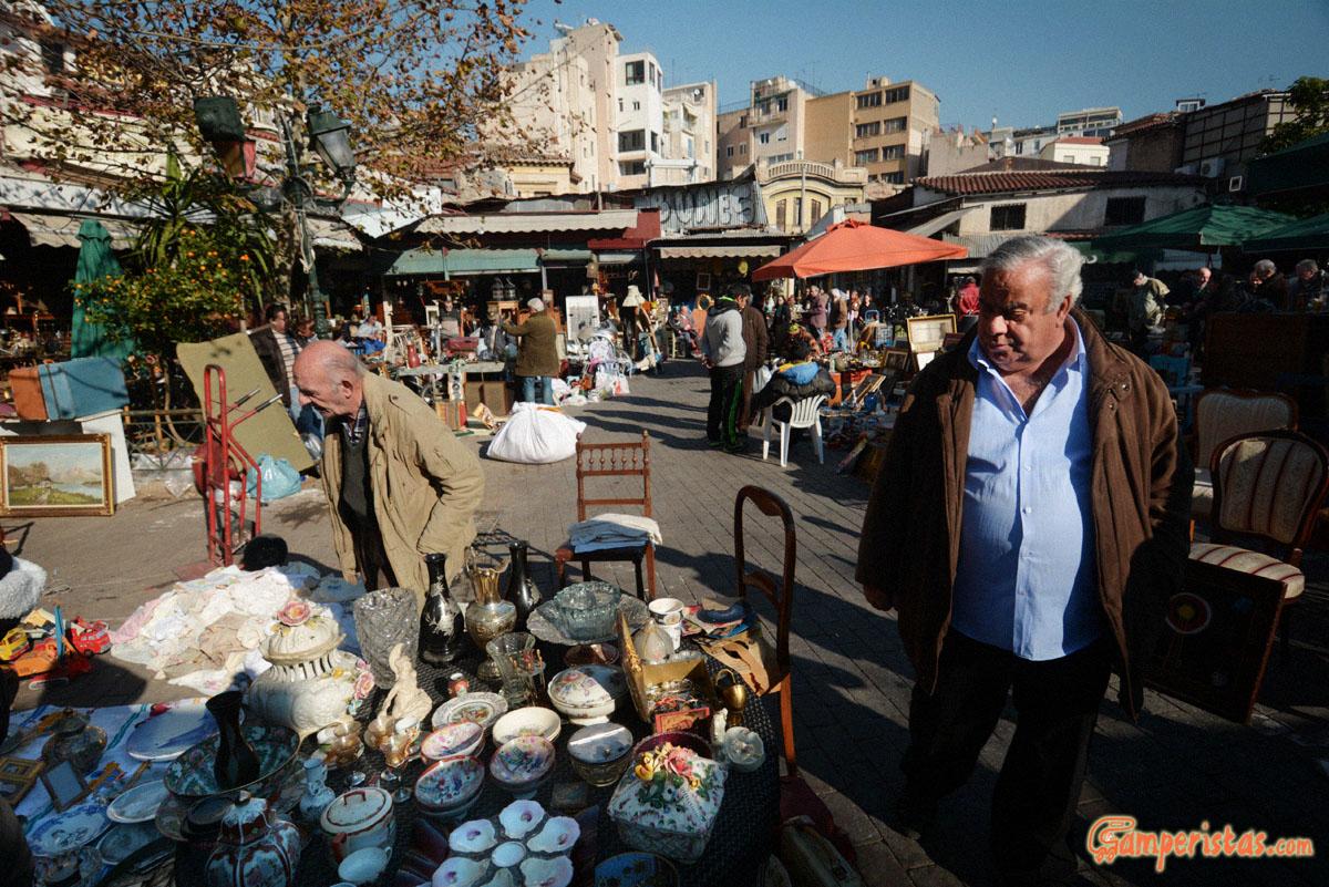 Atene il mercato delle pulci  Camperistascom