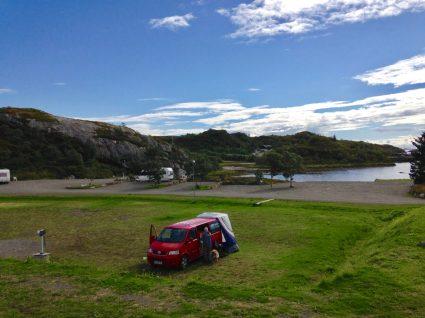 Camping perfekt für uns - Kabelvag