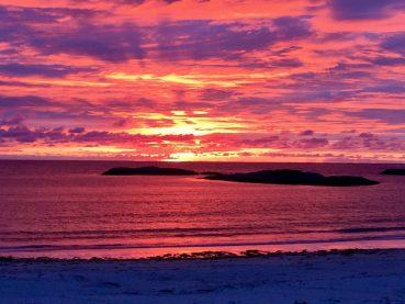 Sonnenuntergang Vesterålen