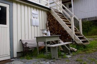 Alte Bäckerei in Nusfjord