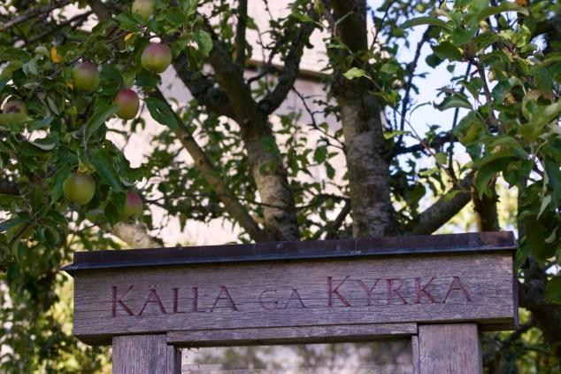 Glockenbogen der Källa Kyrka