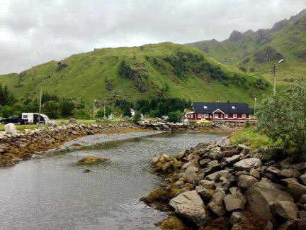 Brustrande Sjøcamping - schön, aber im Wettertal