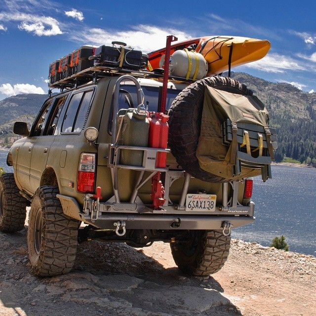 21 Models of Offroad Vans for Camping in The Interior Where The Road is Difficult to Get Through