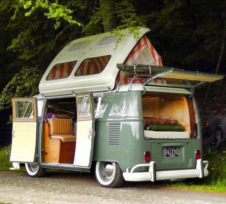 Camper Van with Minimalist Design