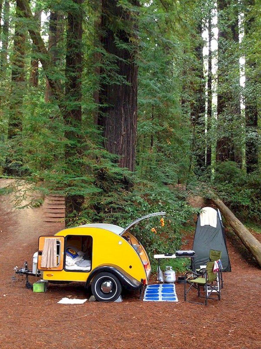 13 Fantastic Teardrop Camper Trailer Design Ideas For Nice Camping