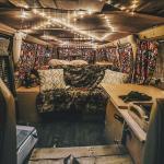 13 Colorful Boho Chic Camper Makeover DIY