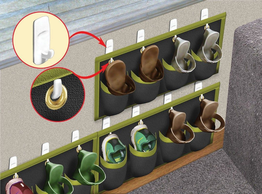 Shoe Organization Hacks for Your RV