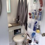 14 RV Bathroom Storage & Organization Ideas
