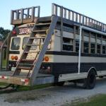 10 Amazing School Bus Campers