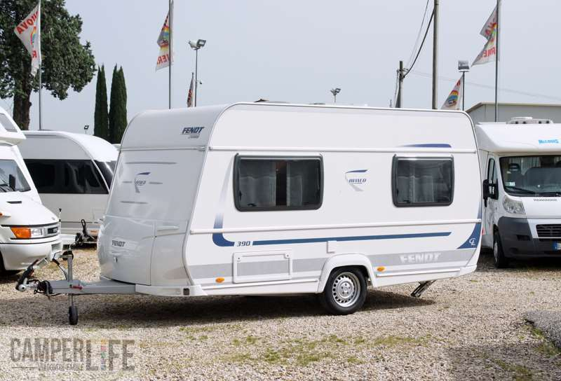 Test caravan Fendt Bianco 390 FH  Camper Life