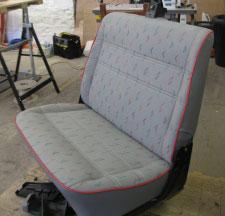 Campervan Seat Upholstery & Trimming in North Devon - Camperliners