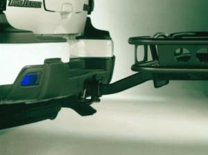 a generator to a trailer bumper