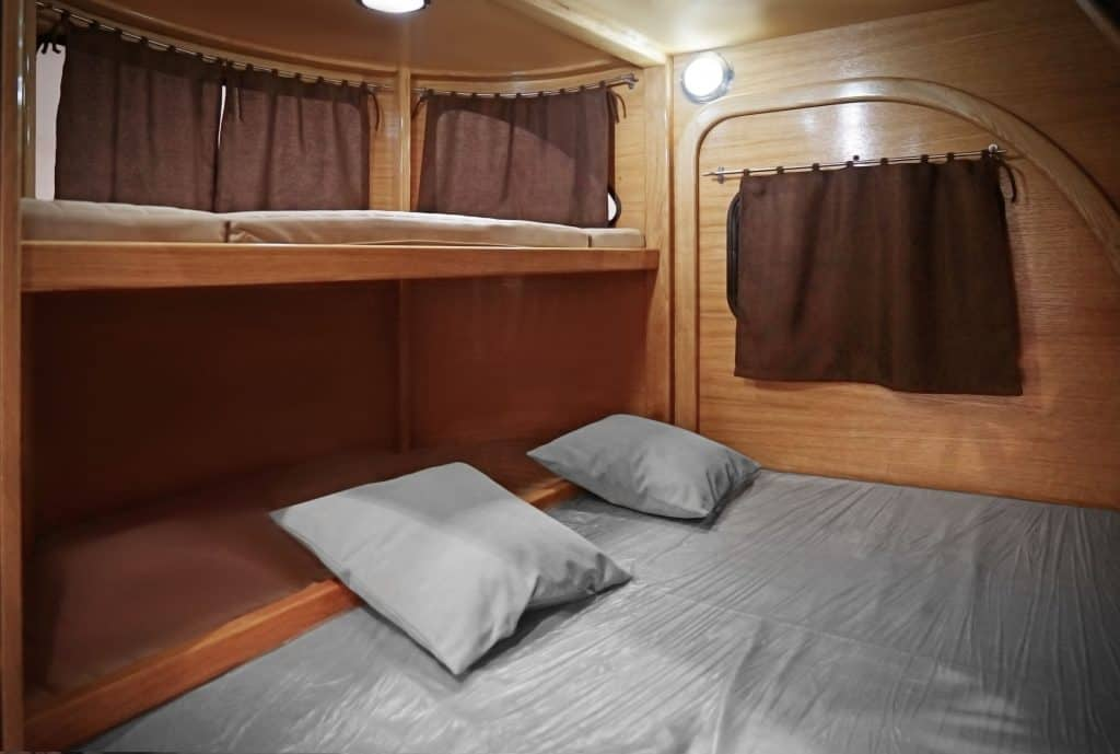 7 Great Camper Trailers With King Size Beds Camper Report