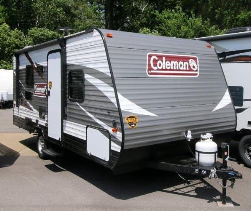 coleman travel trailer review