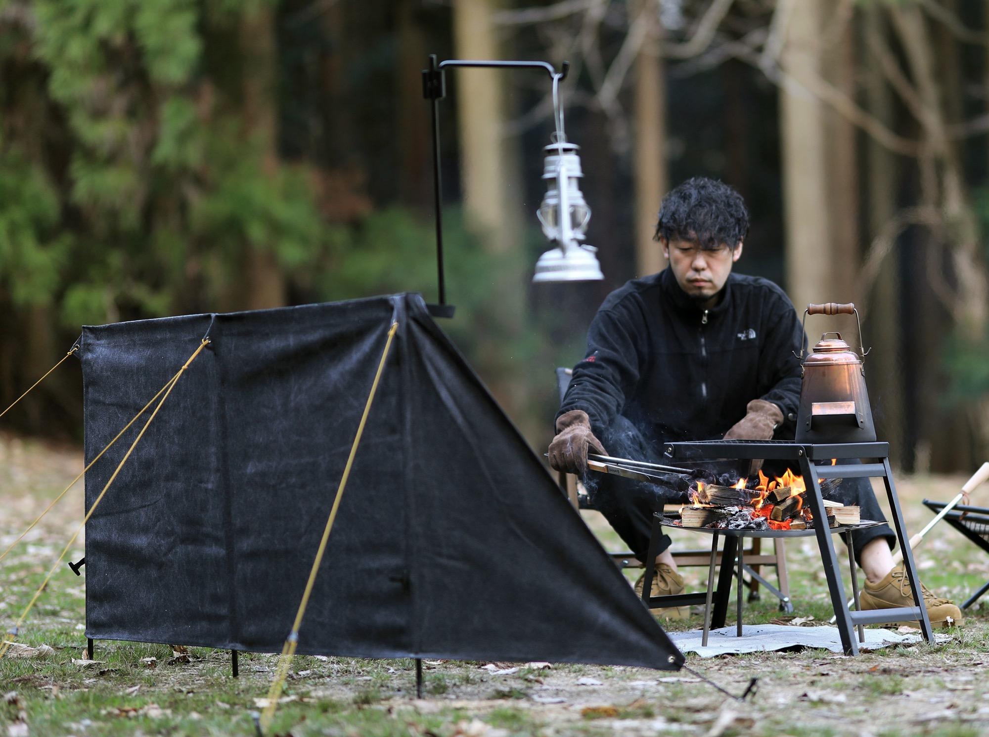 クイックキャンプ焔ブラック