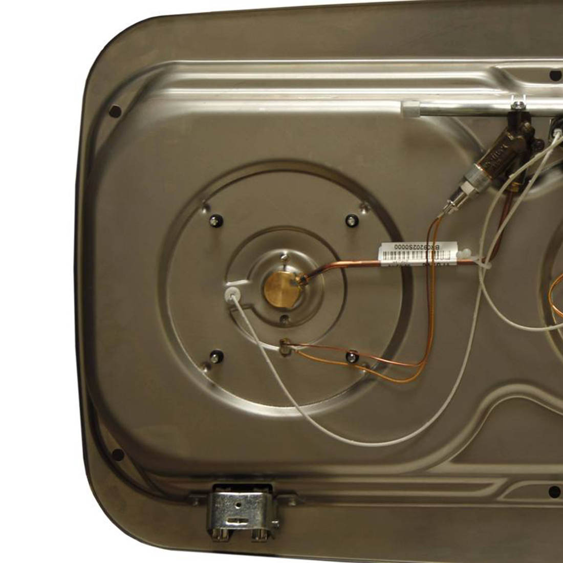 Van kitchen cooker bottom.