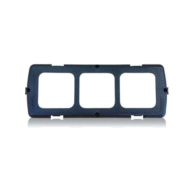 3 slot frame for campervan electrical switches.