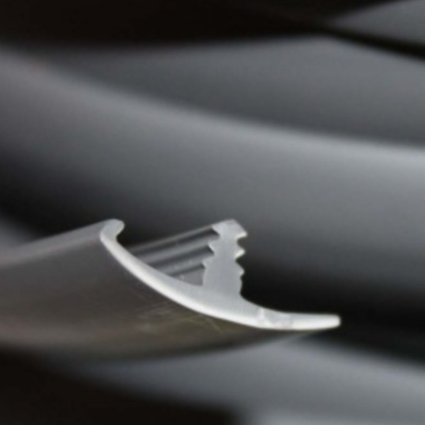 PVC 15mm knock on trim for van furniture kit.